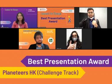 Best Presentation Award - Planeteers HK
