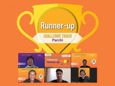 Runner-up of Challenge Track - Parchi