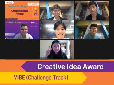 Creative Idea Award - VIBE