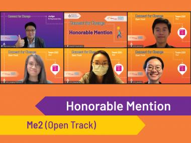 Honourable Mention - Me2