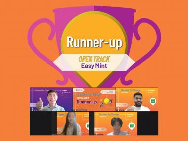 Runner-up of Open Track - Easy Mint