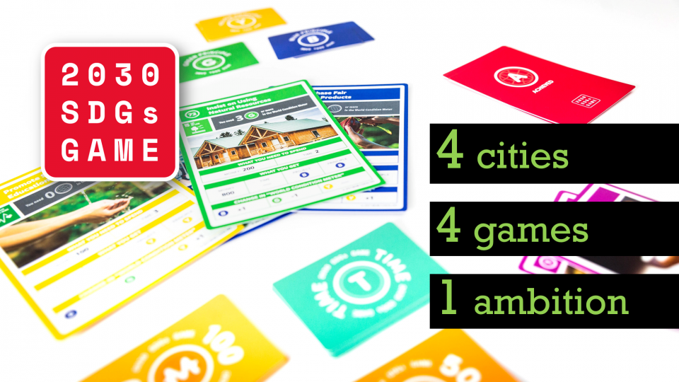 The 2030 SDGs Game cards
